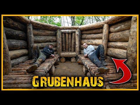 Grubenhaus - Das Schuften nimmt kein Ende 😂 - Bushcraft Camp Shelter Survival