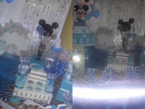 Decoración Tematica Baby Shower Mickey Youtube