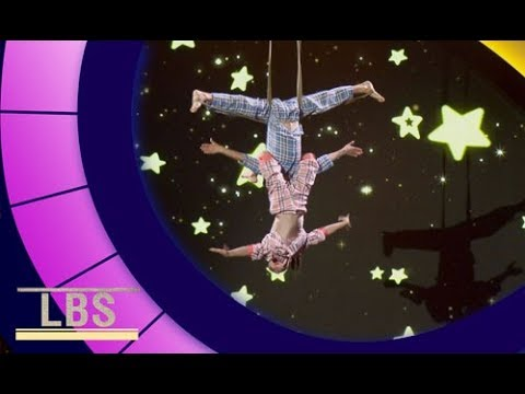 Meet Aerial Acrobats only 7 & 10 years old! | Little Big Shots Aus Season 2 Episode 3