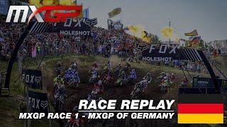 MXGP of Germany 2019  Replay MXGP Race 1 #Motocross