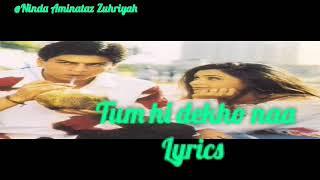 Tum Hi Dekho Na Lirik video 3D