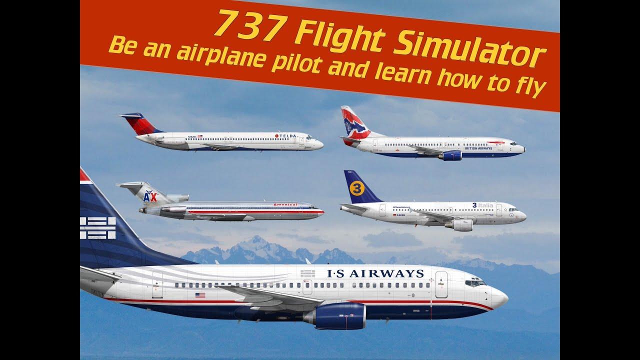 737 Flight Simulator - Be an airplane pilot by Justyna Zablocka ( IOS )  Crash Compliation 2016 HD