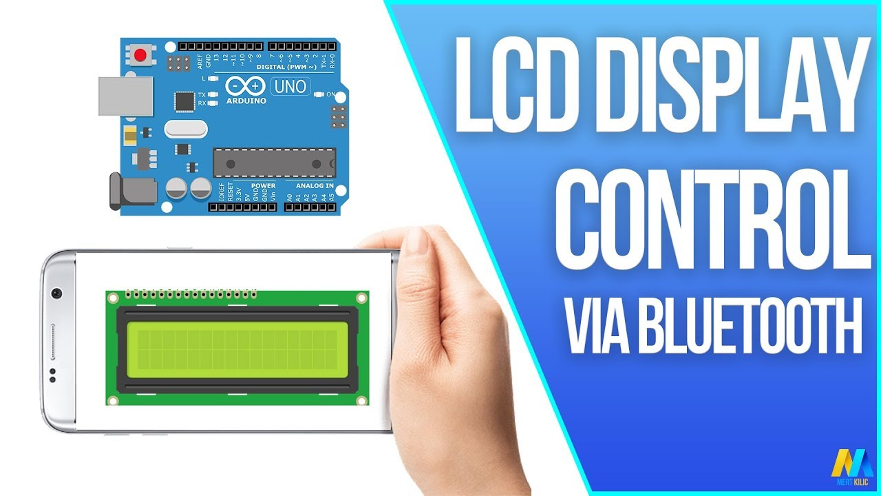 Contrast Control For Lcds Arduino Lcd Display Via Bluetooth Youtube