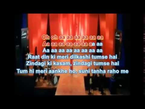 kabhi sham dhale to karaoke Sur