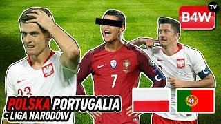 Polska vs Portugalia w Lidze Narodów | Winny Ronaldo? | Gramy o 500PLN | Kto Wygra?| Setka Lewego