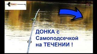 Моя ДОНКА с самоподсечкой. Самоподсечка работает только НА ТЕЧЕНИИ !!! Fishing câu cá 钓鱼 рыбалка