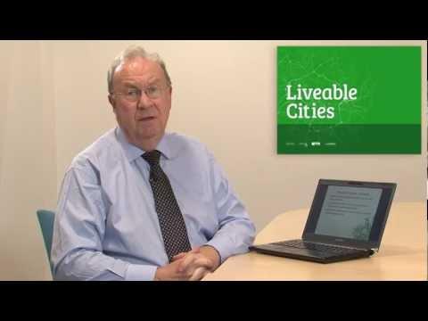 SMART Urban Liveability Workshop - Professor Brian Collins