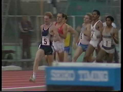 Steve Ovett and Peter Elliott - 1000m, Talbot Games, Crystal Palace 1983.