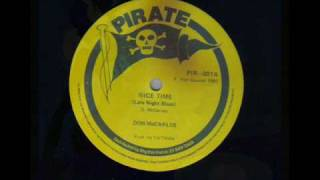 Don Carlos - Late night blues aka nice time inna Dub Style Reggae dub