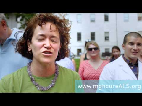 The MGH Neurology Department Takes on the ALS Ice Bucket Challenge