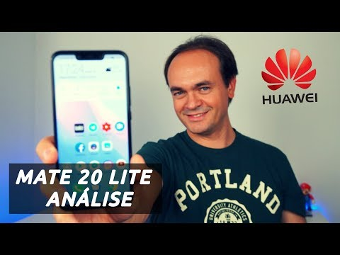 Huawei MATE 20 LITE - Análise/ Review