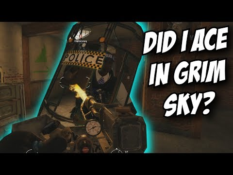 Rainbow Six Siege First Grim Sky Ace? Clutch Hereford Base Gameplay w/ Frost Elite Clash Maverick