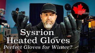 Sysrion Rechargeable Battery Heated Gloves | These are Awesome!