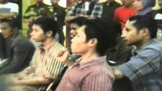 Aksi Demo Mahasiswa SBT