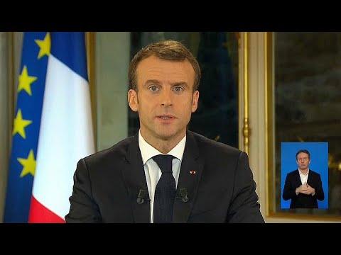 As promessas e os avisos de Emmanuel Macron