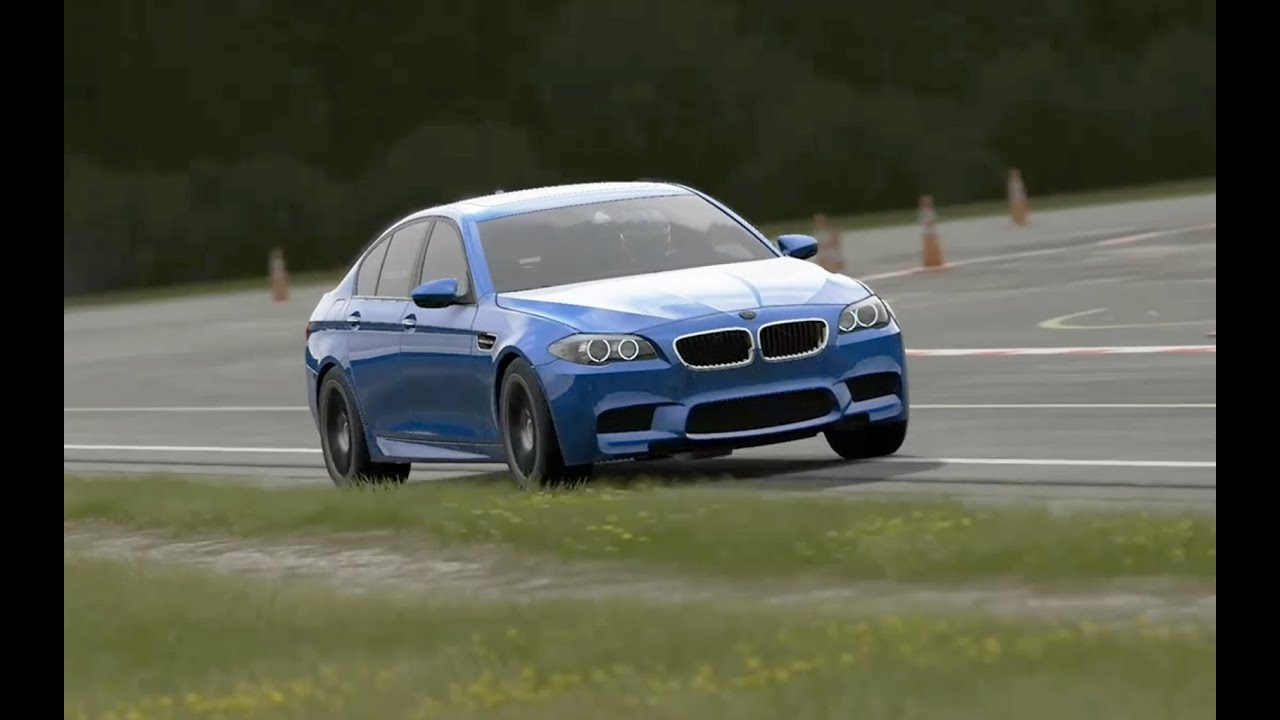 top gear 2014 bmw m5 around the track youtube. Black Bedroom Furniture Sets. Home Design Ideas