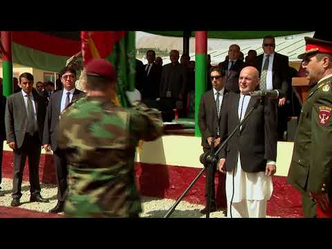 Afghanistan, ANASOC Corp's Ceremony, B-roll