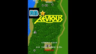 [60fps] Xevious 582880pts