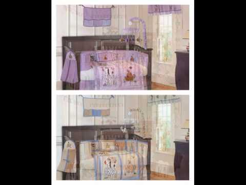Boy Girl Twin Nursery Bedding Sets
