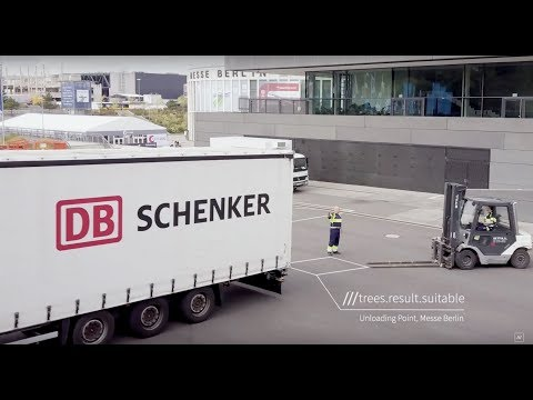 Optimising deliveries with DB's eSchenker platform and what3words