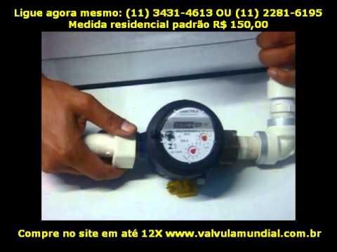17bd564a0d2 Só pode ser instalado depois do relógio medidor de consumo (hidrômetro).  Afiatrons