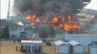 Watch: Beaver Dam controlled burn in 1 minute