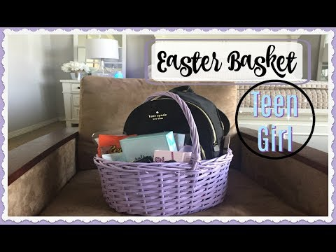SHOP WITH ME + HAUL | EASTER BASKET for TEEN GIRL