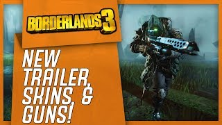 BORDERLANDS 3 Info Drop: NEW Trailer, RARE Skins, Guns, & Rewards In VIP Season 2!