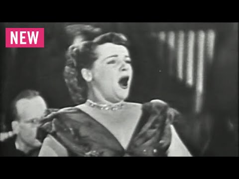 On TV: Eleanor Steber - Vissi d'arte (Tosca) - 1949