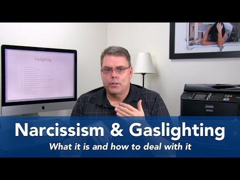 Narcissism and Gaslighting - What it is and how to deal with it!