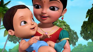 Baby Crying Song - Telugu Rhymes for Children | Infobells