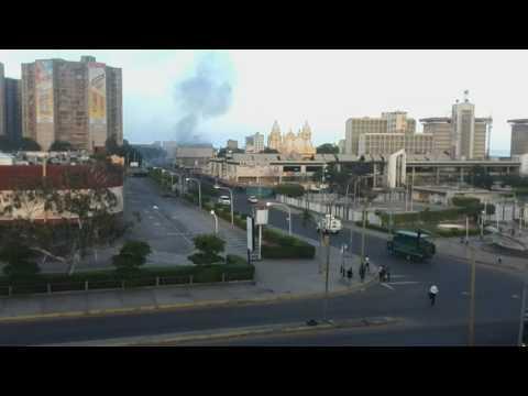 Incendian sede del Inavi y Defensoría del Pueblo en el casco central de Maracaibo