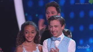 Sophia Pippen & Jake Monreal DWTS Juniors Episode 2 (Dancing With The Stars Juniors)