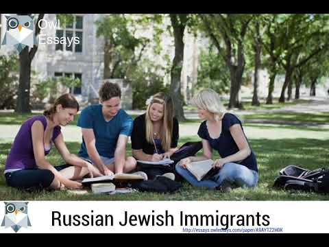 Russian Jewish Immigrants - A9AYTZ2H0K