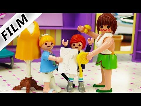 Playmobil Film deutsch | Neues WINTEROUTFIT für Julian | Hannah als Modedesignerin?Kinderserie Vogel