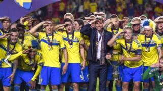 Sverige U21 EM - Guld 2015