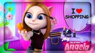 Моя Говорящая Анжела - Уровень 21 - День Покупок - Новое Платье - Игры для девочек