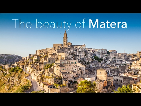The beauty of Matera - 4K