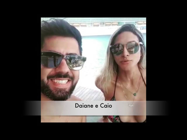 Depoimento Daiane e Caio
