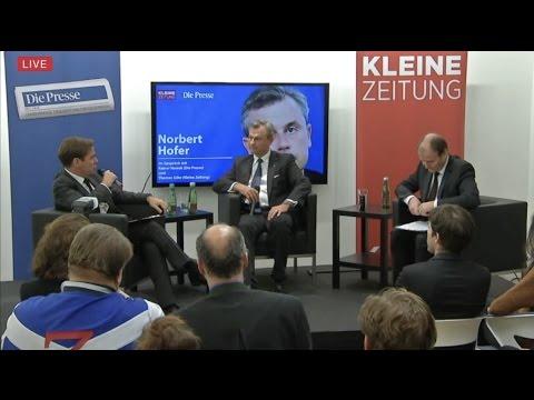 Norbert Hofer - Presse/Kleine Zeitung-Gespräch - 29.11.2016