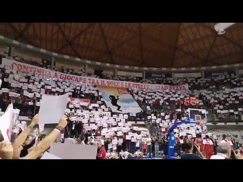 All'Allianz Dome La Coreografia Da Brividi Dedicata Alla Piccola Sveva