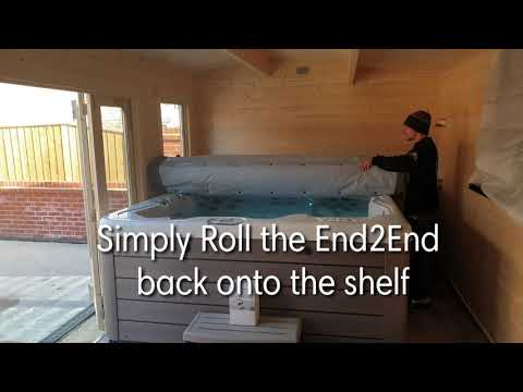End2End Roll on, Roll of Hot Tub Cover