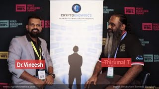World Blockchain Summit Bangkok | Interview with Thirumal T by Cryptoknowmics