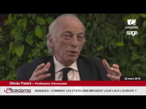 Les Entretiens de l'Académie : Olivier Pastré