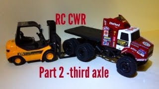 Rc Cwr - Part 2 Losi Trekker 6x6 Build Video Suspension And Body