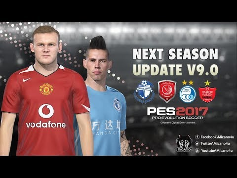 PES 2017 Next Season Patch 2019 Official Update V9 0 Download