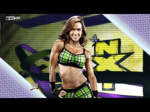 "AJ Lee 3rd WWE Theme Song - ""Right Now"""