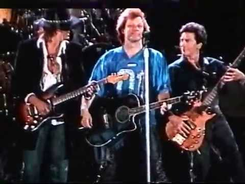 Bon Jovi - Wanted Dead Or Alive / with Alec John Such (New Jersey 2001)