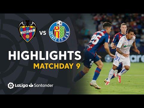 Levante Getafe Goals And Highlights
