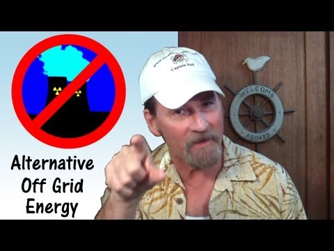 Solar Panel, Wind Turbine, Renewable Alternative Energy - Pirate Lifestyle TV ™ Episode 025
